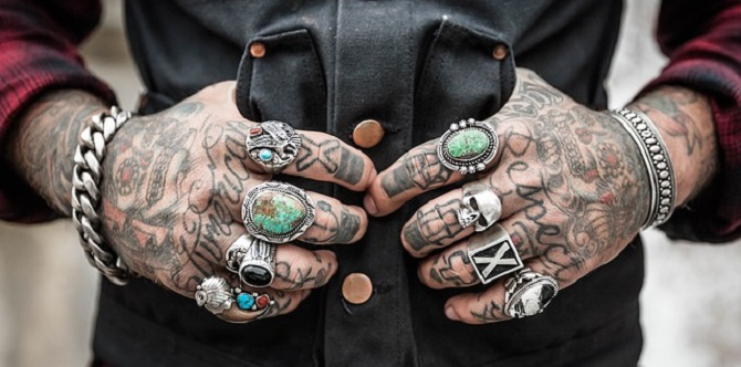 アクセサリー指輪大量