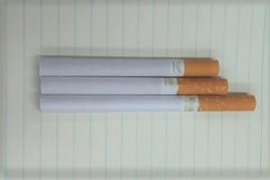 タバコの長さ