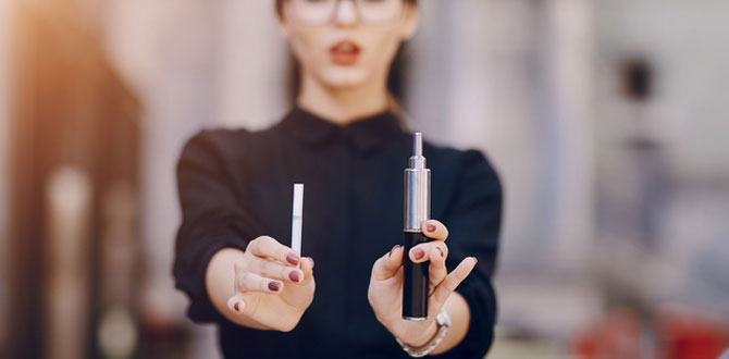 VAPEとタバコ