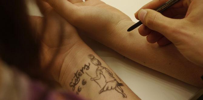 刺青やタトゥーを消す方法