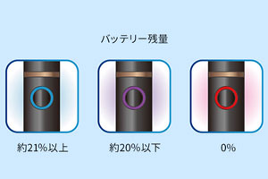プルームテックプラスのバッテリー