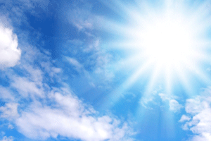 暑い日が原因
