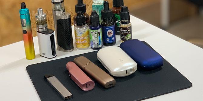 電子タバコ加熱式タバコ