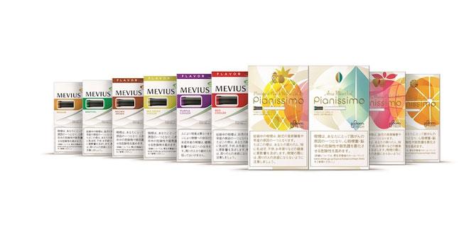 たばこカプセルは2019年3月に10種類になる